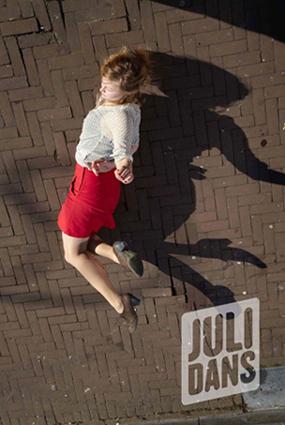Niels Stomps shoots new campaign Julidans