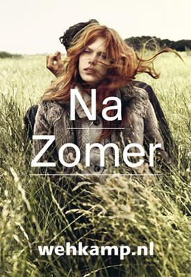 Marijke de Gruyter shoots new campaign Wehkamp