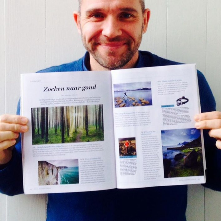 Jonathan Andrew featured in National Geographic Traveler with a workshop on landscape photography!