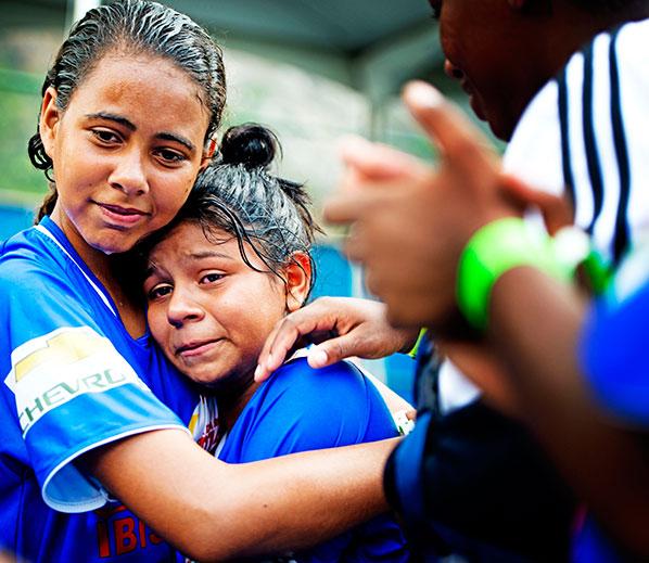 Expositie Robin Utrecht 'WK voor Straatkinderen' in Sao Paulo