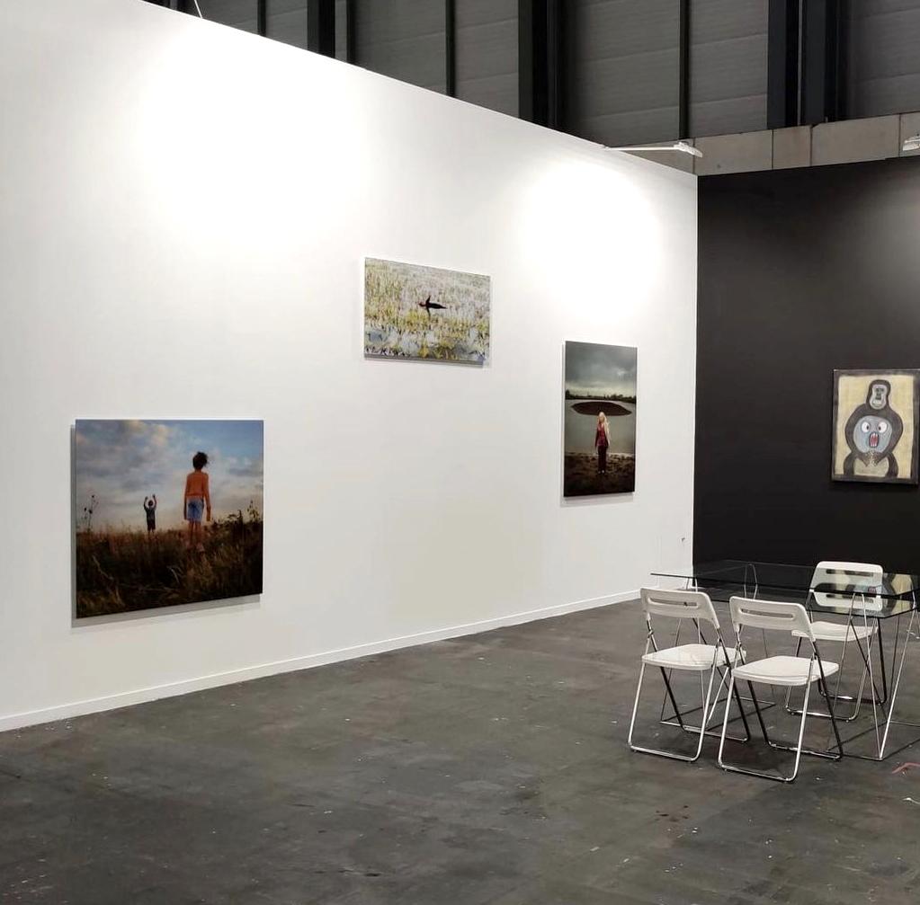 Ellen Kooi at ARCO Artfair in Madrid