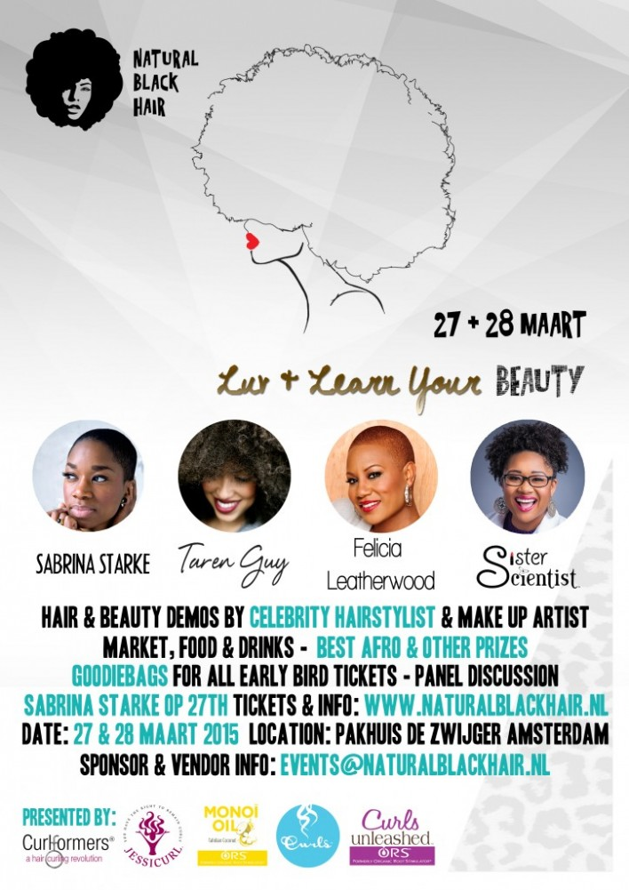 NaturalBlackHair-events presents Taren Guy's Luv & Learn Your Beauty