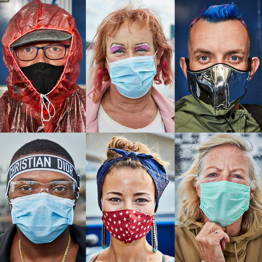the mask project by Jonathan Andrew
