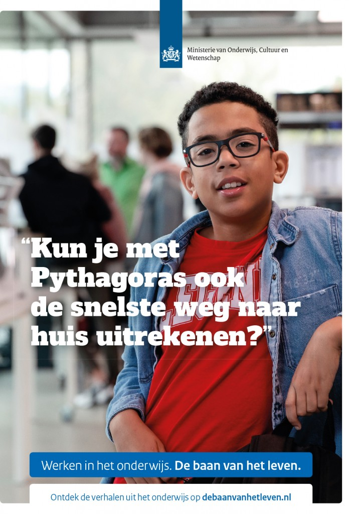 Chantal Spieard's new campaign for Rijksoverheid