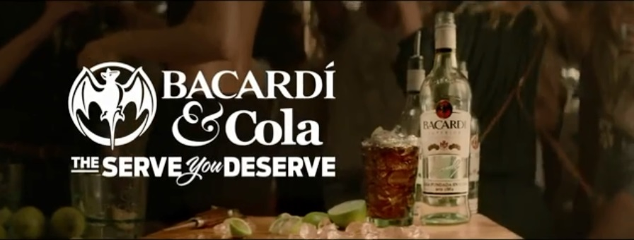 Claartje Lindhout - Bacardi - The serve you deserve