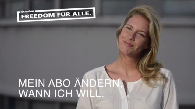 Tim Müller - Sunrise digital board & web banner campaign
